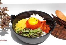 입안에서 톡톡 터지는 게살알밥