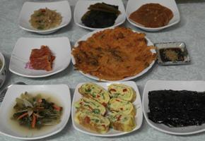 김치전&땡초 달걀말이