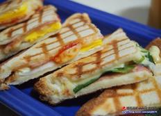 레꼴드 샌드위치메이커 브런치 만들기