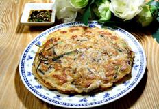 바삭한 녹두 빈대떡