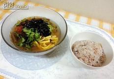 따뜻하게 온묵밥? 아니면 시원하게 냉묵밥? 도토리묵밥 만들기!