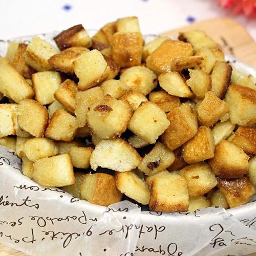 남은식빵으로 만드는 카라멜식빵팝콘