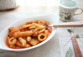 간단요리 간식 국물떡볶이 만들기