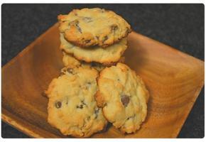 월넛 초코칩 쿠키 Walnut Chocolate chip cookie