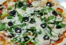 토마토 소스 만드는 법, 시금치 피자 만들기