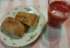 *치아바타 토스트* Ciabatta (이테리 자연발효 빵) 건강빵 토스트