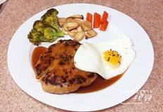 함박스테이크 만들기 돼지고기 햄버거 스테이크 수제 스테이크소스 만드는 방법