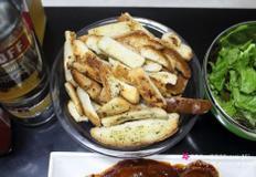 (초간단 간식) 식빵 러스크 - 프라이팬 러스크