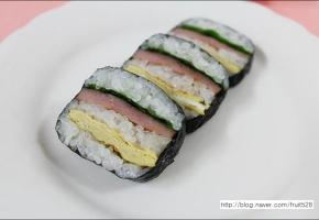 무수비 김밥 만들기