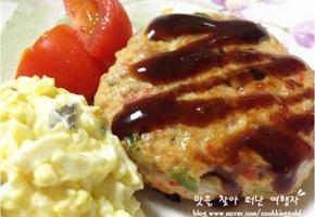치킨 함박 스테이크
