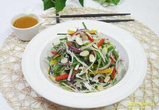 야채 샐러드와 겨자소스 만드는 법