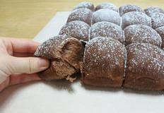 뜯어먹는 초콜릿빵 만들기