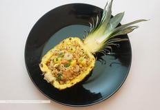 태국식 파인애플 볶음밥(카오팟 사파롯)