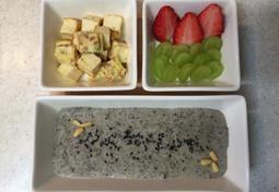 오늘의 아기밥상-검은콩 스프