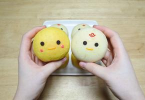 2017년 닭띠해! 통통한 닭과 병아리 누텔라빵 만들기