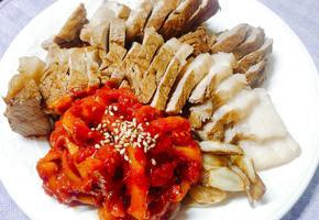 김빠진 콜라와 사이다로 맛있는 수육과 무김치 만들기~!!