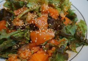 초간단 생연어비빔밥♥