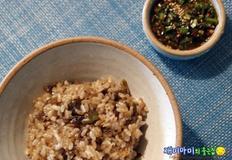 집밥 백선생 가지밥과 양념장