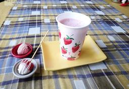 딸기 퐁듀 (딸기 주스와 딸기 초코)