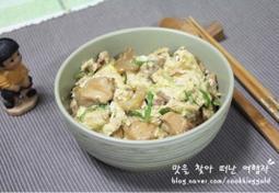 일본가정식 닭고기계란덮밥 오야꼬동
