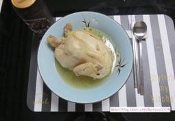 삼계탕 맛있게 끓이는 법 : 삼계탕 닭손질 : 남편 보양식