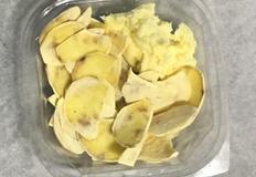 고구마칩 + 고구마 크림치즈