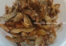 쥐포껍질로 바삭바삭 반찬 및 술안주로 좋은 쥐포 볶음이에요