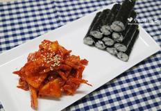 충무김밥 만들기♩ 오늘뭐먹지 레시피보다 좀 더 간단하게