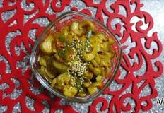 간단반찬 :: 찬밥에물말아먹을때 딱좋은 여름철별미 오이지무침 레시피