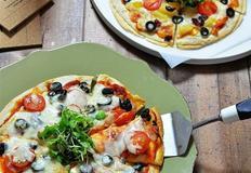 하와이안&베이컨 또띠아 피자 만드는법