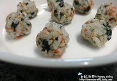 핑거푸드 아기주먹밥