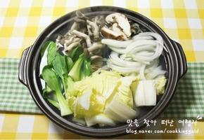 봄철보양식 쫄깃한 '쭈꾸미 샤브샤브'