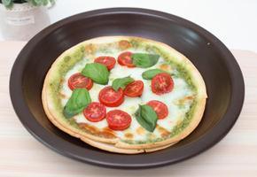 바질페스토 피자 만들기