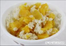 별비밥 호박고구마 밥