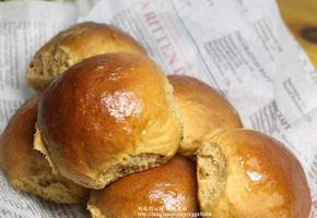 모카 호밀 쌀모닝빵 만들기
