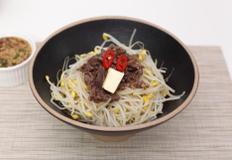 압력밥솥으로 콩나물밥 만들기