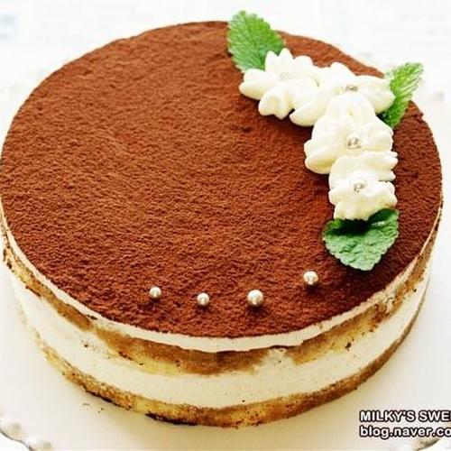 어른들의 케이크 티라미수