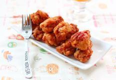양념 닭봉튀김