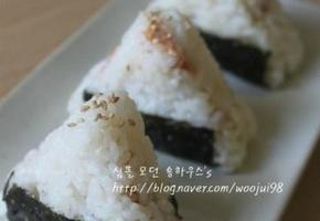 삼각김밥 만들기 # 참치마요주먹밥