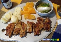 숙성 돈가스:초간단 재움소스에 숙성시켜 더 맛있게 만들기
