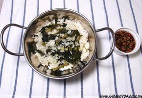 곤드레나물밥- 향이 좋은 곤드레나물밥