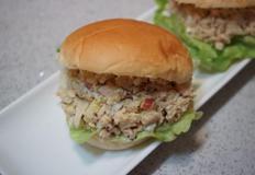 연어 통조림으로 만든 간단 샌드위치