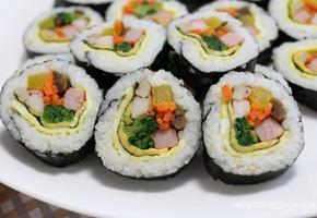 [김밥 맛있게 싸는법] 참치김밥 치즈김밥 예쁘게 싸는법