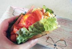 #푸짐한 아침식사 스모크햄샌드위치 만들기 #햄버거인듯 샌드위치인듯 푸짐하게 한입~~~~~