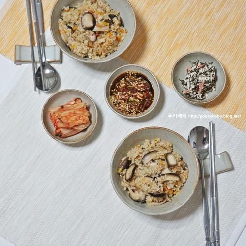 <버섯밥 만들기> 은화고버섯요리 담백한 한그릇 요리