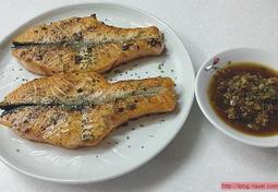연어구이,연어스테이크,연어구이맛있게 먹는법~~^^울남편 좋은사람과 나눠먹고싶은맛이랍니다.ㅎ