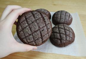 초코멜론빵 만들기