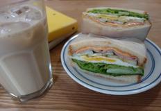 햄에그 샌드위치 ★ 담백함이 좋아요~