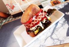 #브런치 #스모크햄을 넣고 만든 햄버거만들기 #곡물빵으로 만드는 스모크햄버거~~ 이정도면 브런치도 배부르다!!