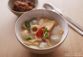 만두 어묵국 (어묵탕)